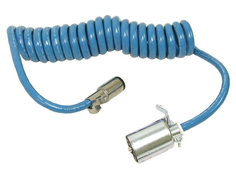 Coiled Electrical Cable : Blue ox bx coiled electrical cable