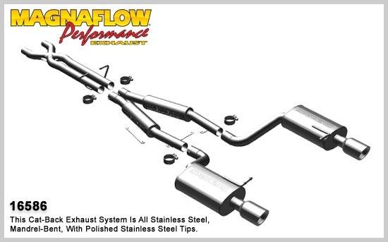 2004-2006 audi s4 magnaflow exhaust system