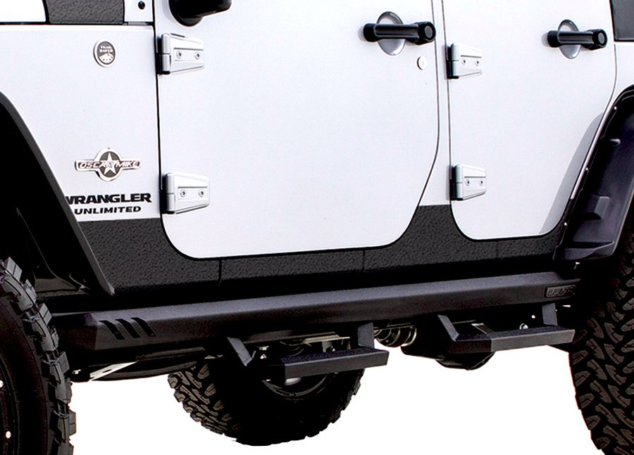 2007 2017 Jeep Wrangler Lund Rhino Lining Rocker Guards Lund 5821100