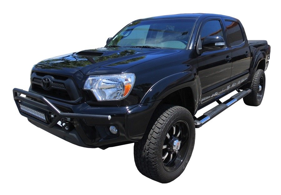 Bars In Tacoma >> 2005-2019 Toyota Tacoma Steelcraft STX400 Step Boards ...