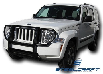 2008 2012 Jeep Liberty Steelcraft Grille Guard