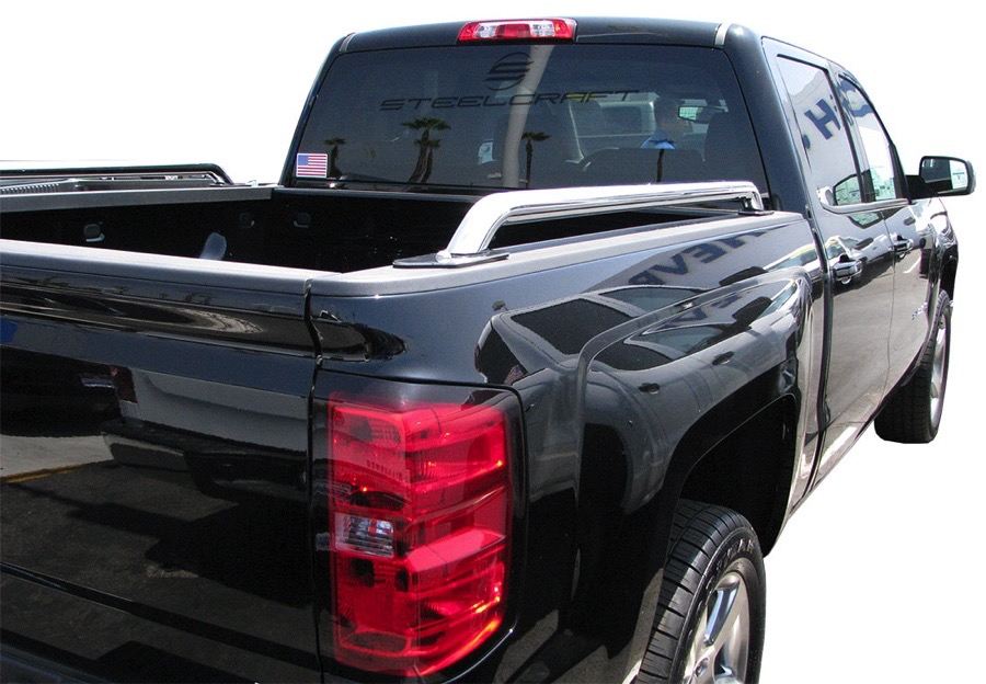 2018 Ford F350 >> 2014-2018 Chevy Silverado Steelcraft Bed Rails ...