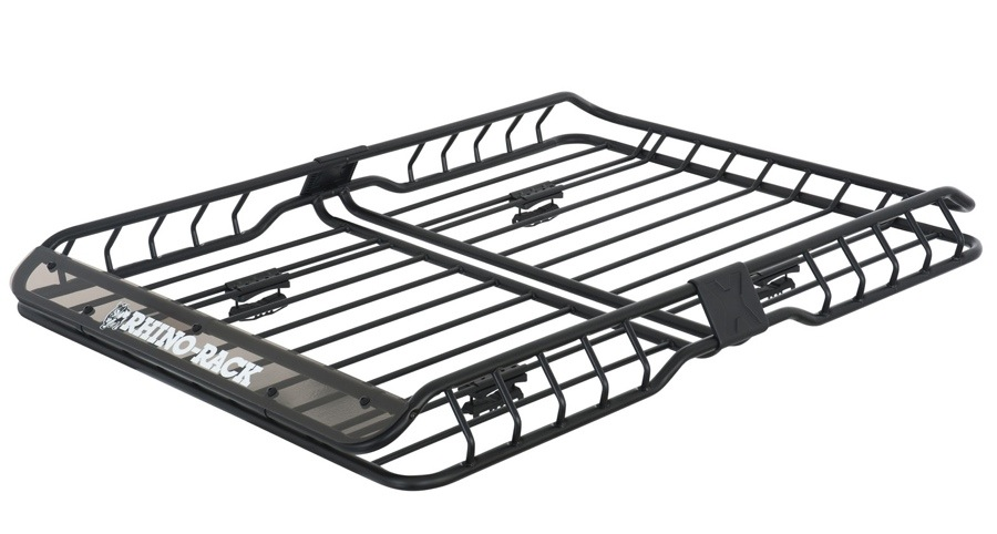 rhino-rack rmcb02 roof mount cargo basket
