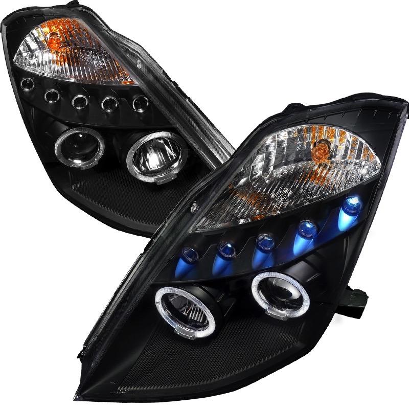 2003 2005 nissan 350z spec d headlights spec d 2lhp for Garage jm auto audincourt