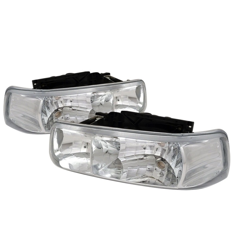 1999-2002 chevy silverado spec-d headlights