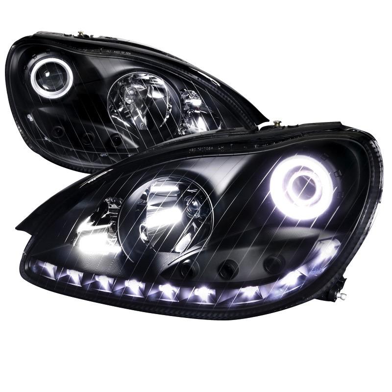 2000-2006 mercedes s-class spec-d headlights