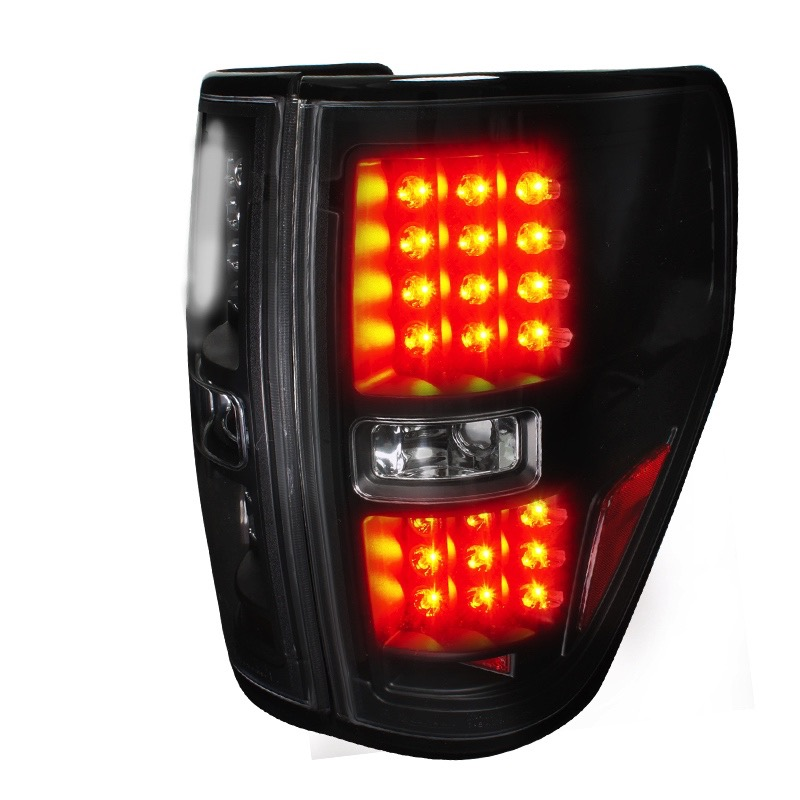 2009 2012 ford f150 spec d led tail lights spec d lt f15009jmled tm. Black Bedroom Furniture Sets. Home Design Ideas