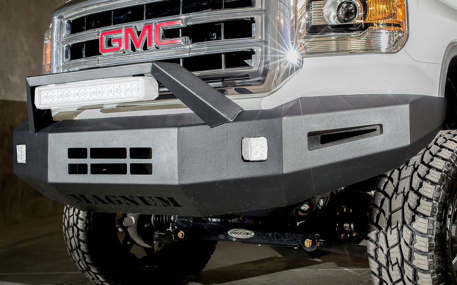 2014 2015 Gmc Sierra Ici Magnum Front Winch Bumper Ici