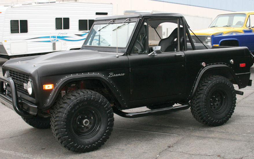 1966 1972 Ford Bronco Aries Step Bars Aries 203038