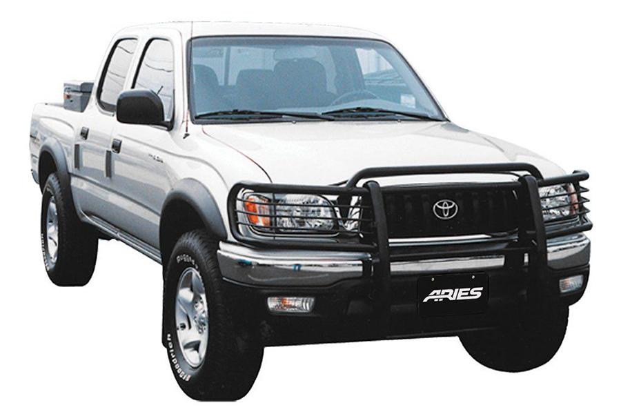 aries 2042 - 1-piece grille guard for tacoma