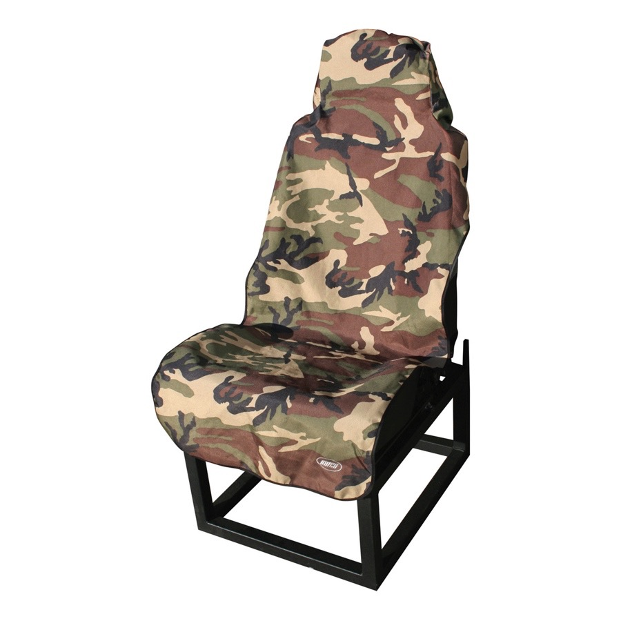 Aries 3142 20 front defender camouflage seat cover for Garage seat nevers