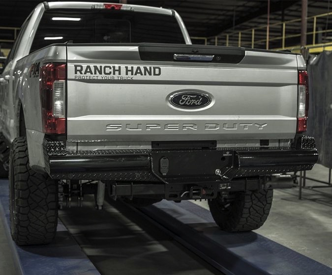 2017 Ford F250 Towing Capacity >> 2017-2018 Ford F250 Ranch Hand Legend Rear Bumper - Ranch ...