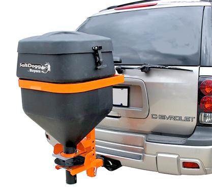 Tailgate Salt Spreader >> SaltDogg TGSUV1B Receiver Hitch Mount Salt Spreader ...