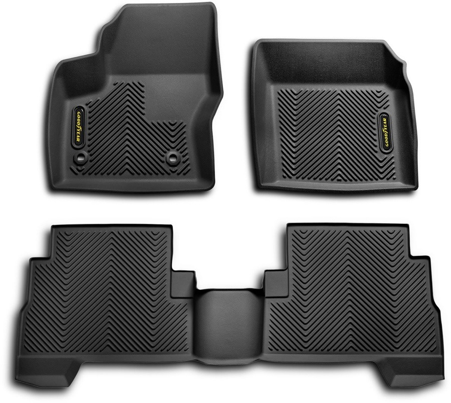 2013 2016 Ford Escape Goodyear Floor Liners Goodyear 140022