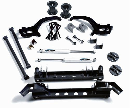 pro comp lift kit installation instructions
