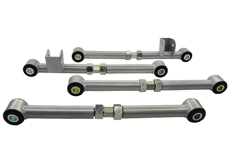 Whiteline KTA124 Lower Control Arm Adjustable Toe//Camber for 00-04 Subaru Legacy