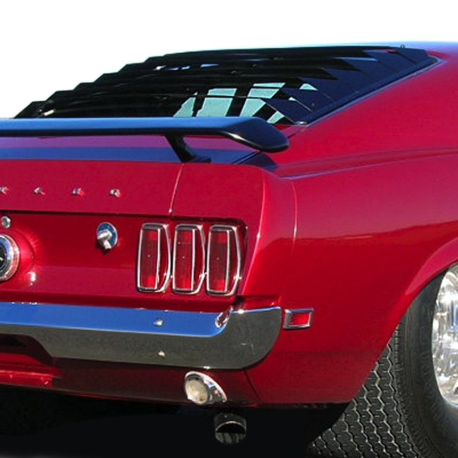 1969 1970 ford mustang willpak rear window louvers for 1970 mustang rear window louvers