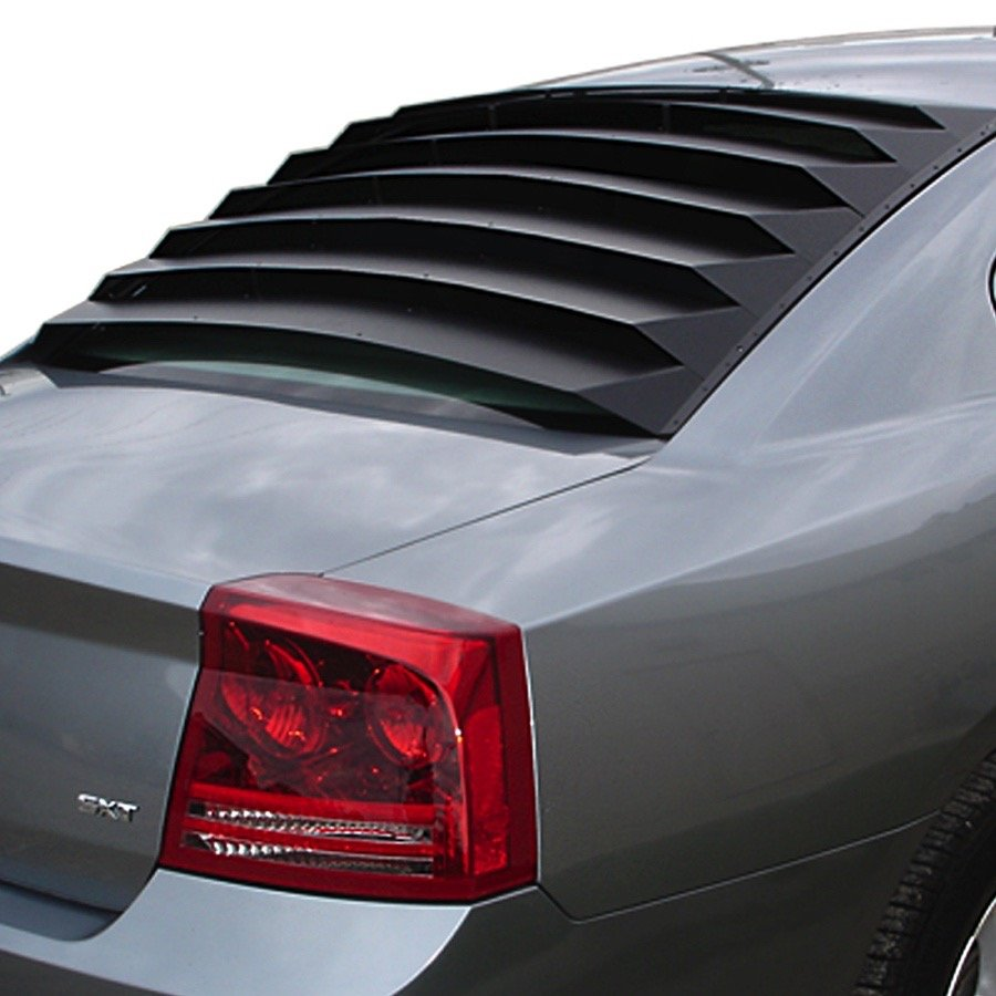 2006 2010 Dodge Charger Willpak Rear Window Louvers