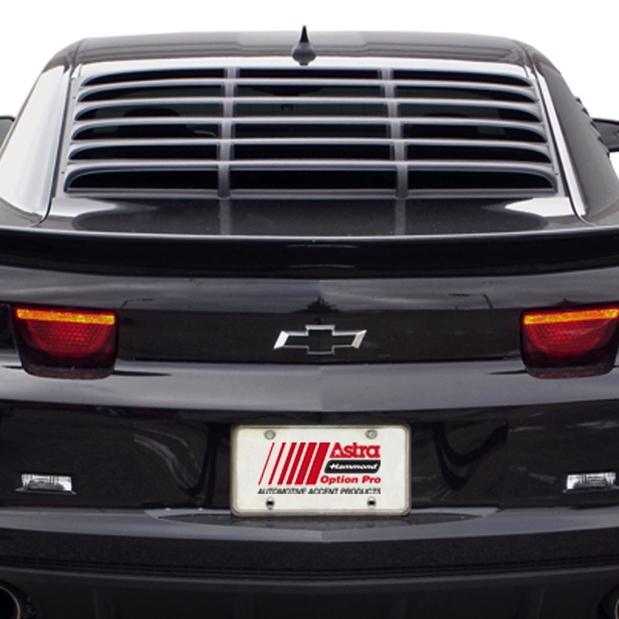 2010 2015 Chevy Camaro Willpak Rear Window Louvers