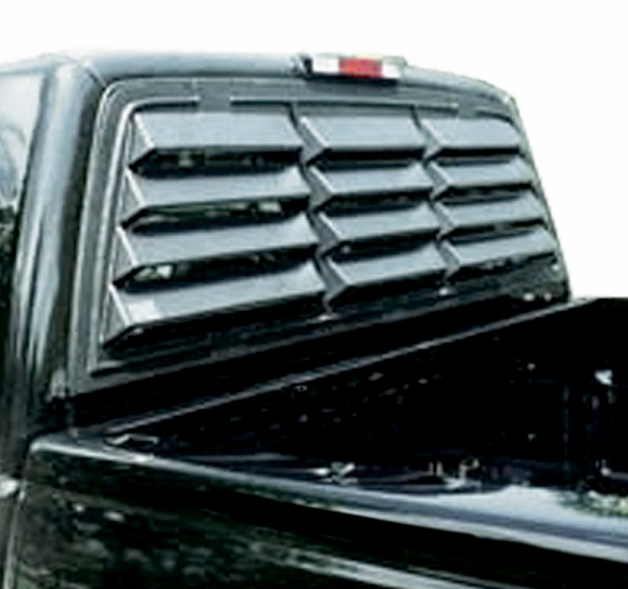 1983 Chevy Truck >> 1988-1998 Chevy C/K Pickup Willpak Rear Window Louvers ...