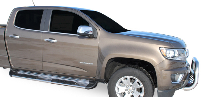 2015-2020 Chevy Colorado Luverne Side Entry Running Boards ...