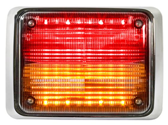 federal signal qlsfc ra split quadraflare warning light autoaccessoriesgaragecom