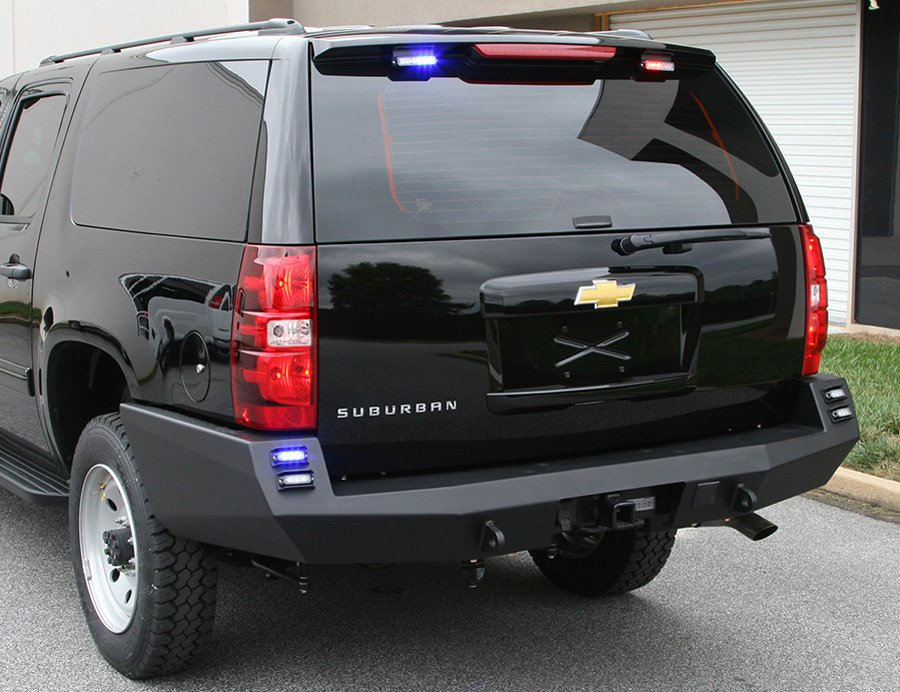 2007 2014 chevy tahoe fab fours premium rear bumper fab for Garage six fours centre auto
