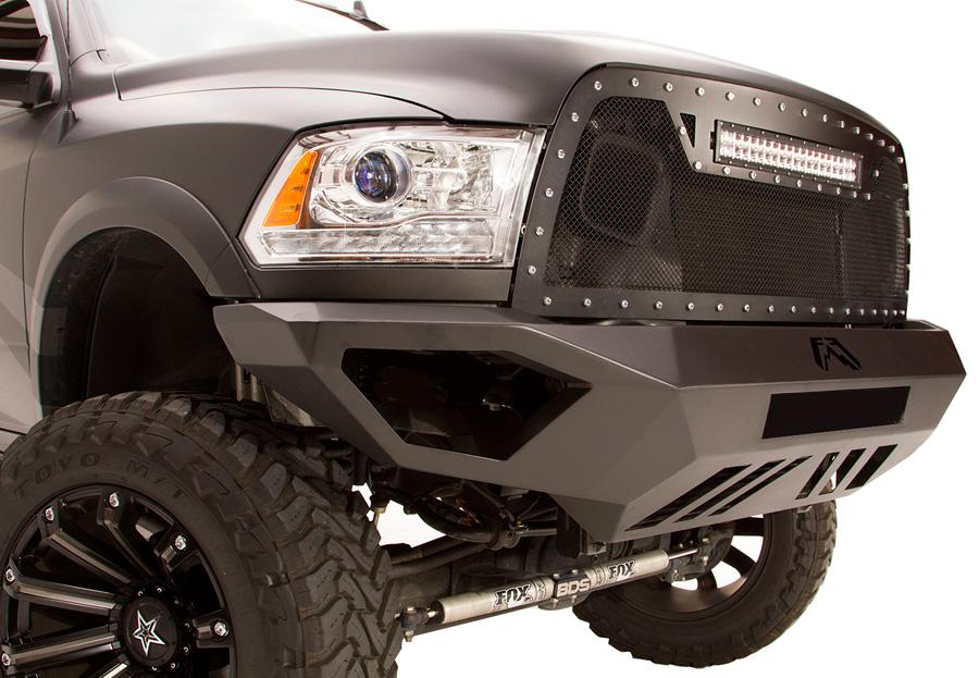 2010 2012 dodge ram 1500 fab fours vengeance front bumper for Garage six fours centre auto