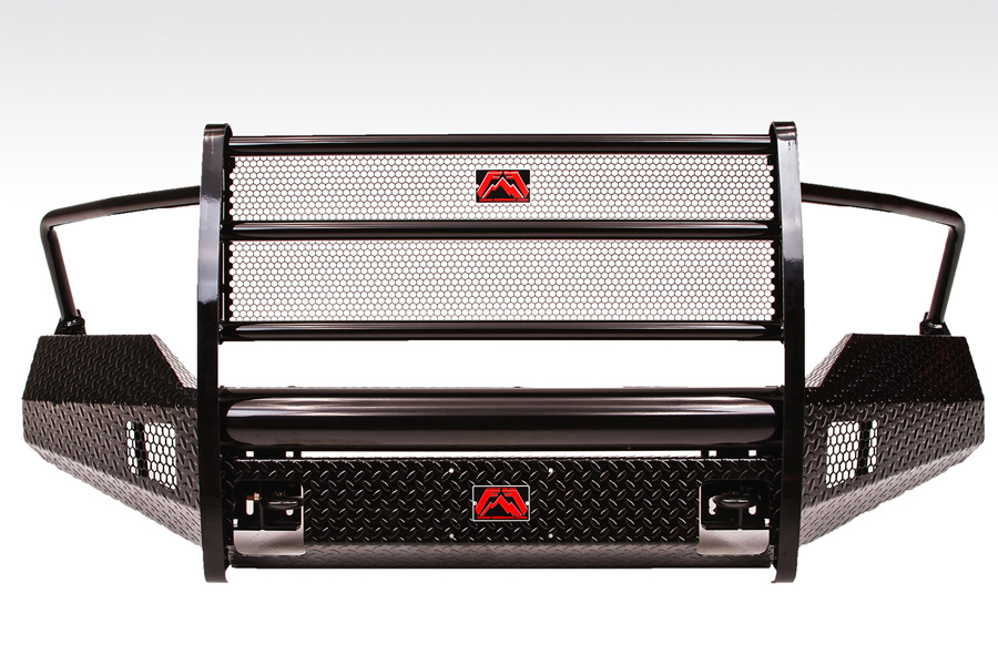 2013 2018 dodge ram 1500 fab fours black steel grille for Garage six fours centre auto