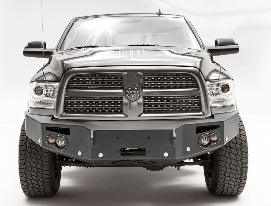 2016 2018 dodge ram 3500 fab fours premium front bumper for Garage six fours centre auto