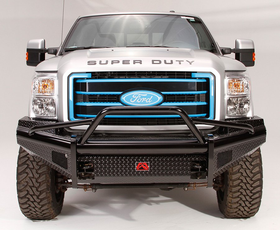 2011 2016 ford f250 fab fours black steel pre runner front for Garage six fours centre auto