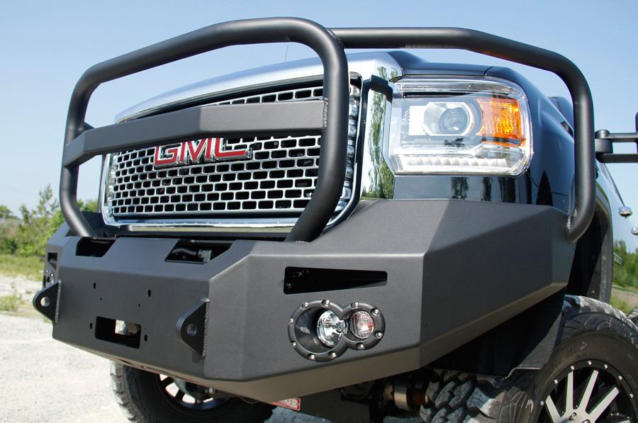2011 2014 gmc sierra fab fours premium grille guard front for Garage six fours centre auto