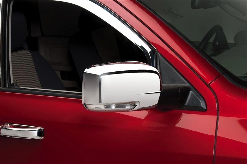 2013-2018 Dodge Ram 1500 Putco Chrome Trim Mirror Covers - Putco 400539