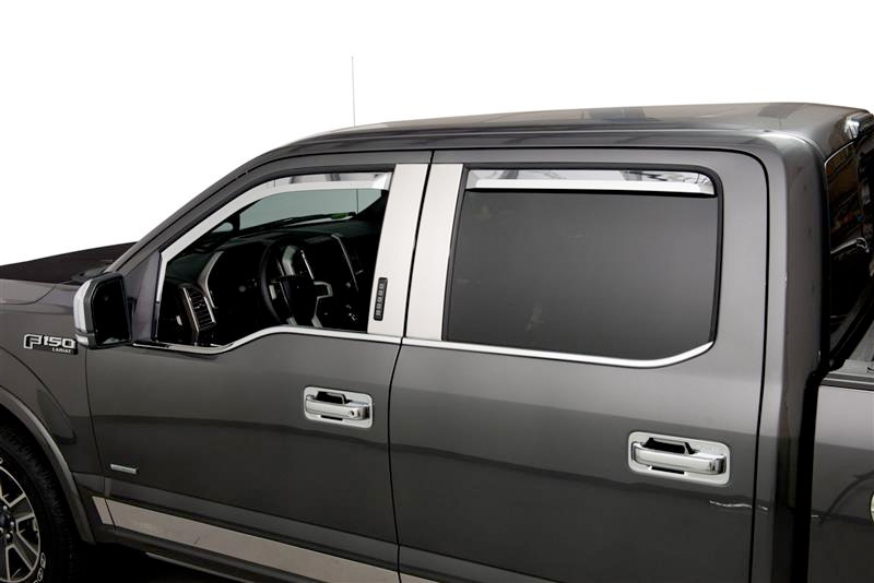 2015 2018 Ford F150 Putco Element Window Deflectors