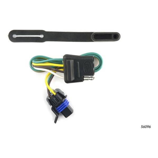 2010 2016 cadillac srx curt t connector wiring harness curt 56096