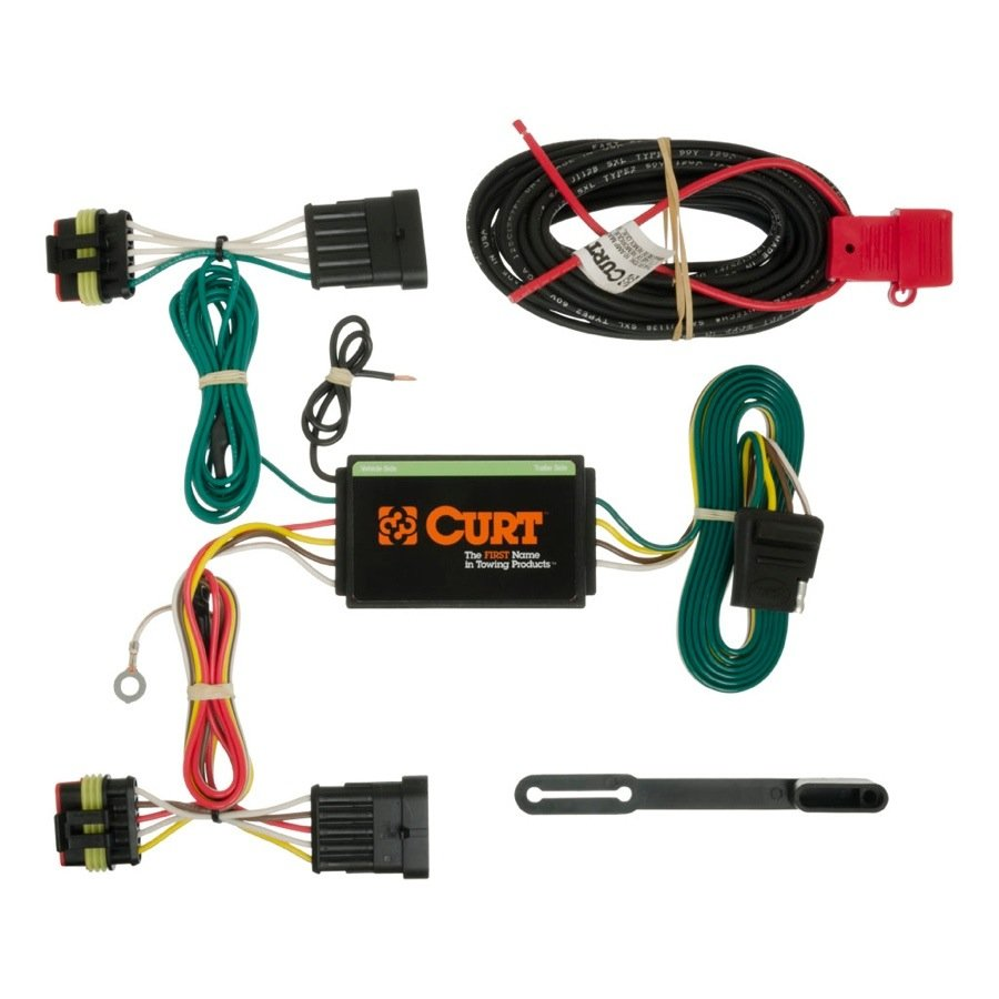 2014 2015 fiat 500 curt t connector wiring harness curt 56193