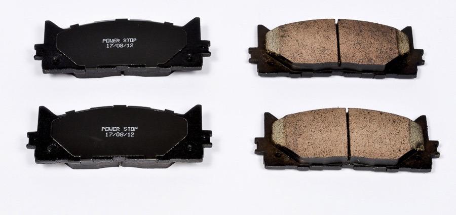 2007 lexus es350 power stop evolution clean ride ceramic. Black Bedroom Furniture Sets. Home Design Ideas
