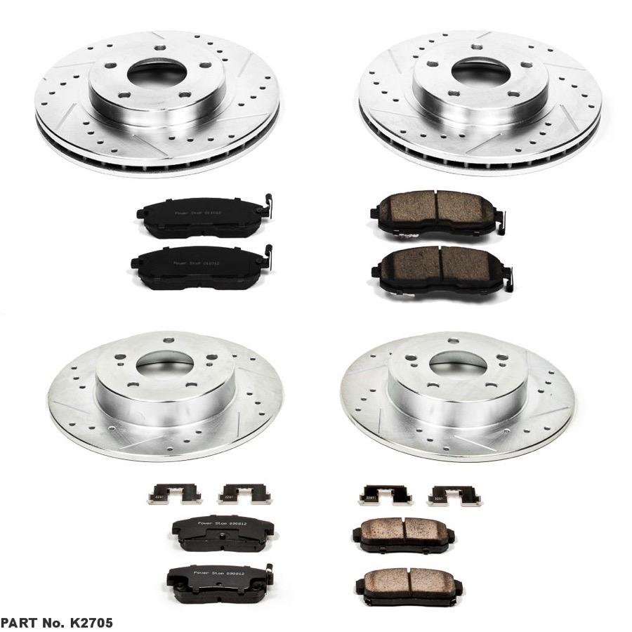 2001 Nissan Maxima Power Stop Brake Kit Power Stop K2705