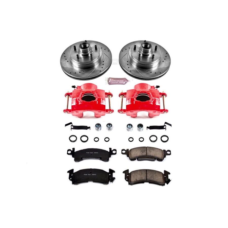 1991 1996 Chevy Caprice Power Stop Performance Brake Kit