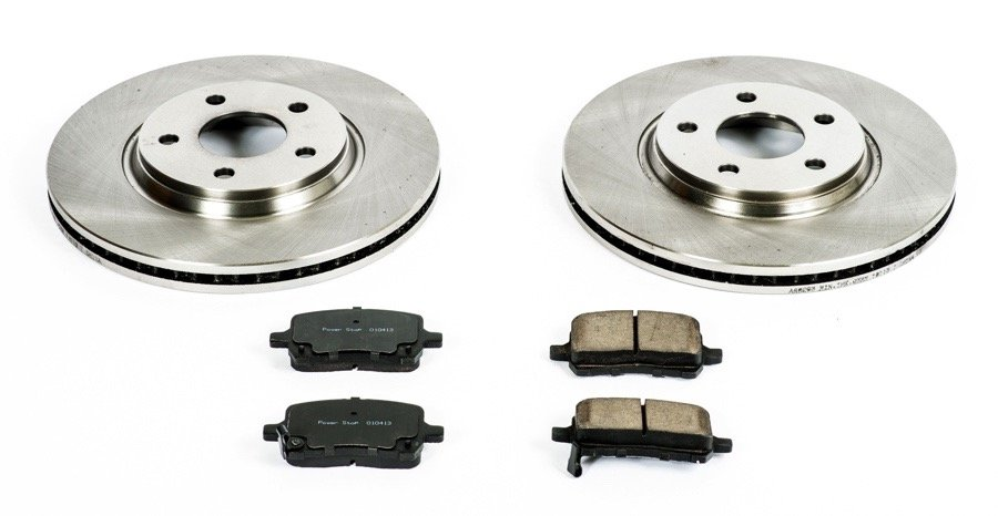 power stop oe replacement brake kit free shipping autos post. Black Bedroom Furniture Sets. Home Design Ideas