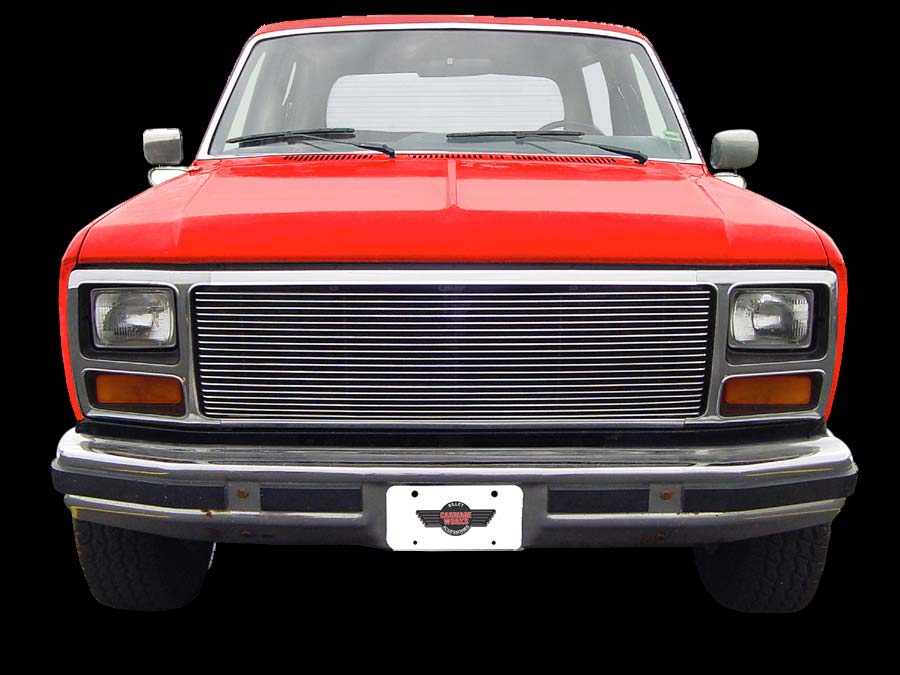 1980 1986 Ford F150 Carriage Works Billet Grille