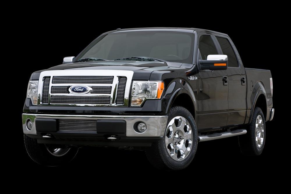 2009 2014 Ford F150 Billet Bumper Grille Carriage Works 44382