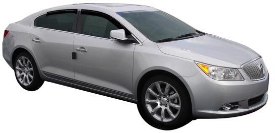 2010 2016 Buick Lacrosse Autoventshade Ventvisor Window