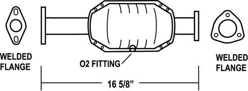 honda civic catalytic converter replacement