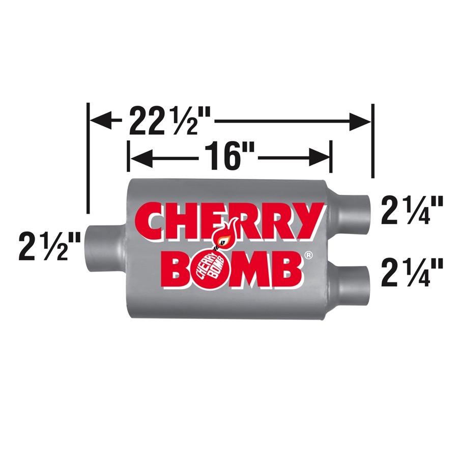 Cherry Bomb Vortex Muffler 88107CB
