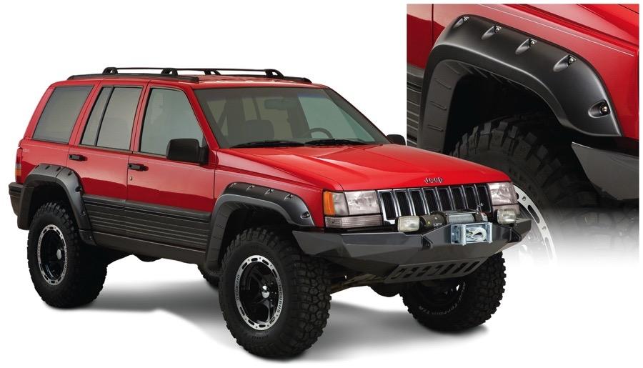 1993 1998 Jeep Grand Cherokee Bushwacker Cut Out Fender
