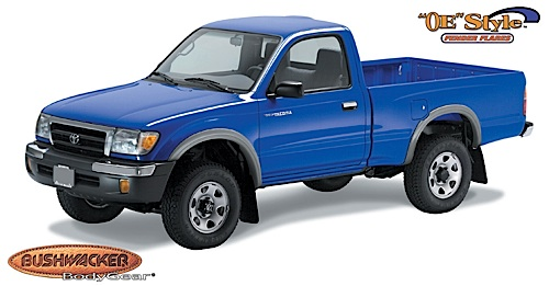1995 2004 toyota tacoma bushwacker street fender flares. Black Bedroom Furniture Sets. Home Design Ideas