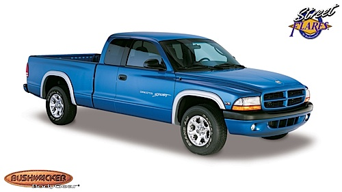 1997 2004 dodge dakota bushwacker street fender flares. Black Bedroom Furniture Sets. Home Design Ideas