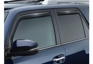 WeatherTech IN-CHANNEL RAIN /& WIND GUARDS FOR TOYOTA 4RUNNER 2010-2019 82531