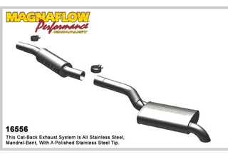 BMW 540i Exhaust